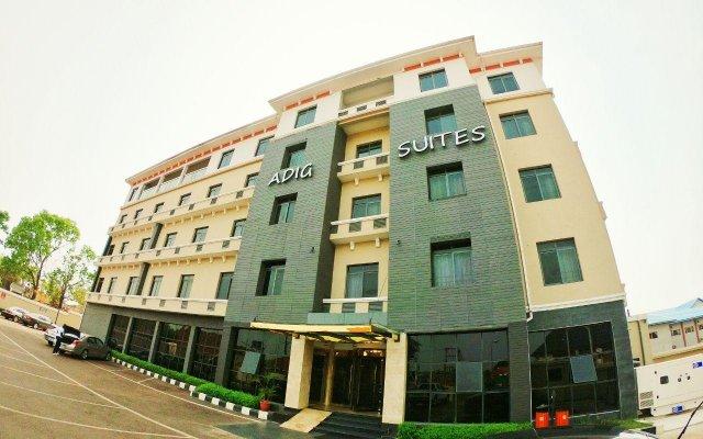Отель Adig Suites Нигерия, Энугу - отзывы, цены и фото номеров - забронировать отель Adig Suites онлайн вид на фасад