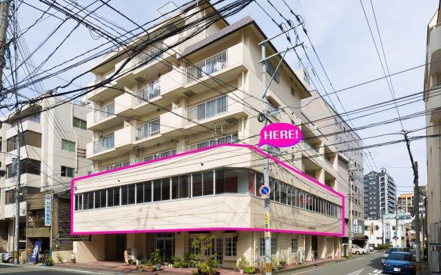 Отель 81's Inn Nakasu - Hostel Япония, Фукуока - отзывы, цены и фото номеров - забронировать отель 81's Inn Nakasu - Hostel онлайн вид на фасад