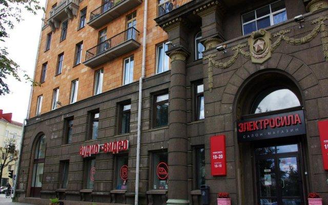 Хостел Smart Inn Минск вид на фасад