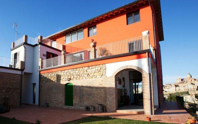 Отель La Casa Rossa Country House Пьяцца-Армерина вид на фасад