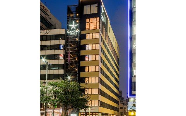 Отель Candeo Hotels Fukuoka Tenjin Фукуока вид на фасад