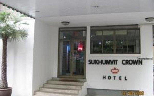 Sukhumvit Crown Hotel Бангкок вид на фасад