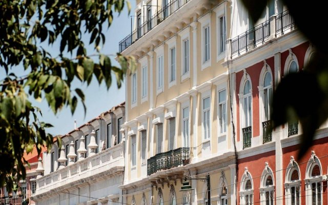 Отель Casa do Príncipe Лиссабон вид на фасад