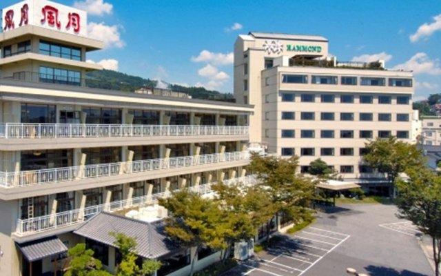 Отель Beppu Kannawa Onsen Hotel Fugetsu Hammond Япония, Беппу - отзывы, цены и фото номеров - забронировать отель Beppu Kannawa Onsen Hotel Fugetsu Hammond онлайн вид на фасад