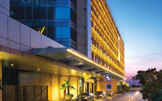 JW Marriott Hotel New Delhi Aerocity вид на фасад