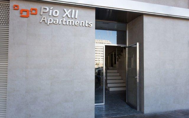 Апартаменты Pio XII Apartments вид на фасад