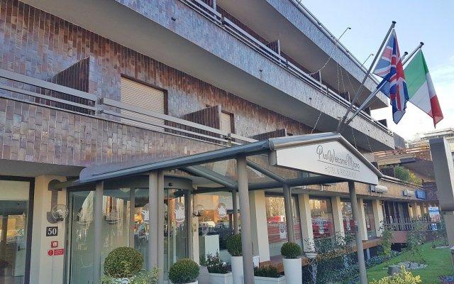 Отель Plus Welcome Milano вид на фасад