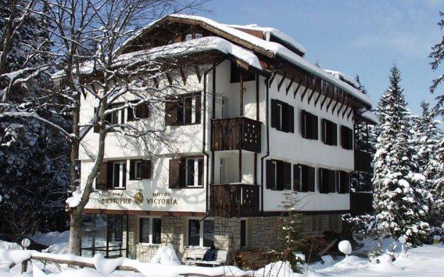Hotel Victoria Боровец вид на фасад