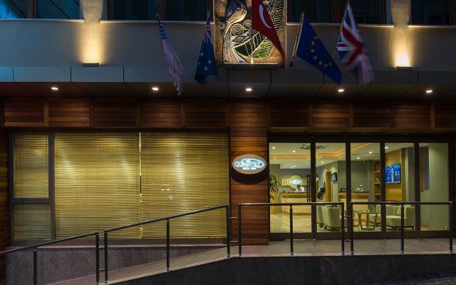 Отель Olimpiyat вид на фасад