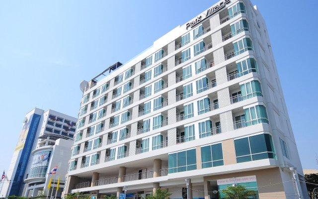 Отель Park Village Serviced Suites Бангкок вид на фасад