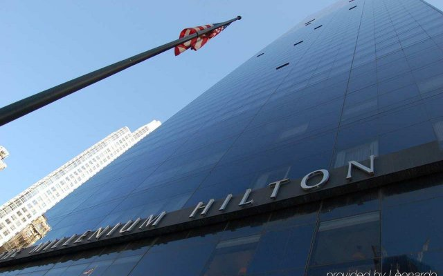 Отель Millennium Hilton New York Downtown США, Нью-Йорк - 1 отзыв об отеле, цены и фото номеров - забронировать отель Millennium Hilton New York Downtown онлайн вид на фасад
