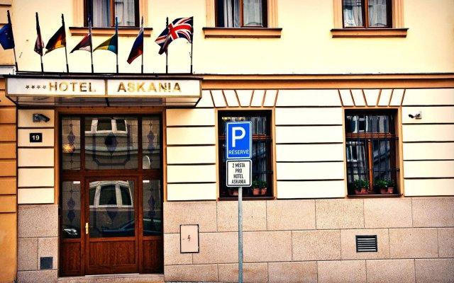 Hotel Askania Прага вид на фасад