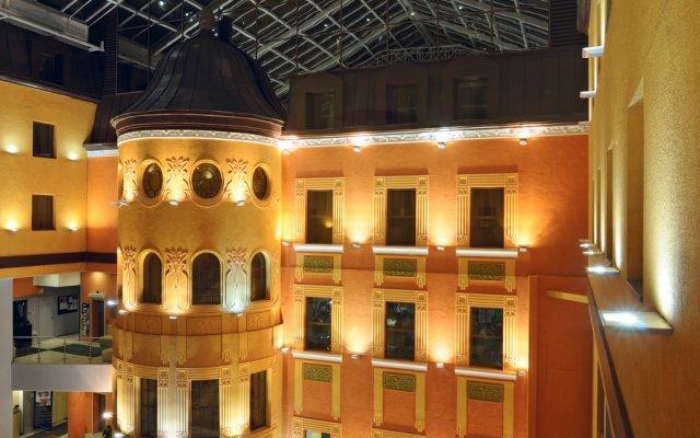 Гостиница Достоевский вид на фасад