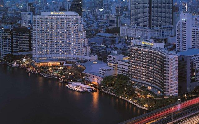 Отель Shangri-la Бангкок вид на фасад