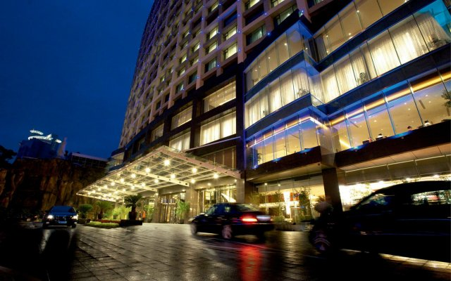 Отель Swiss Grand Xiamen вид на фасад