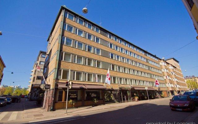 Отель Original Sokos Hotel Albert Финляндия, Хельсинки - 9 отзывов об отеле, цены и фото номеров - забронировать отель Original Sokos Hotel Albert онлайн вид на фасад