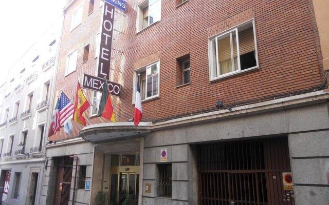 Отель Mexico Испания, Мадрид - отзывы, цены и фото номеров - забронировать отель Mexico онлайн вид на фасад