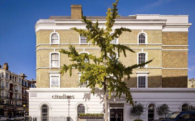 Отель Citadines South Kensington London Великобритания, Лондон - отзывы, цены и фото номеров - забронировать отель Citadines South Kensington London онлайн вид на фасад
