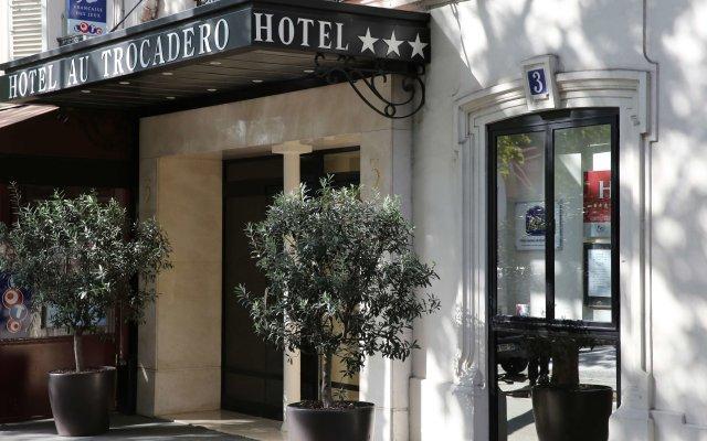 Отель Best Western Au Trocadero Франция, Париж - 1 отзыв об отеле, цены и фото номеров - забронировать отель Best Western Au Trocadero онлайн вид на фасад