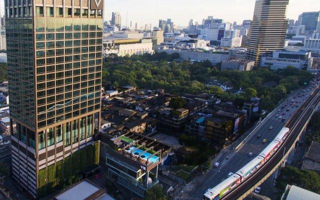 VIE Hotel Bangkok, MGallery by Sofitel балкон