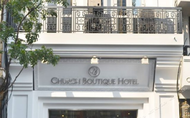 Church Boutique Hotel Hang Trong вид на фасад