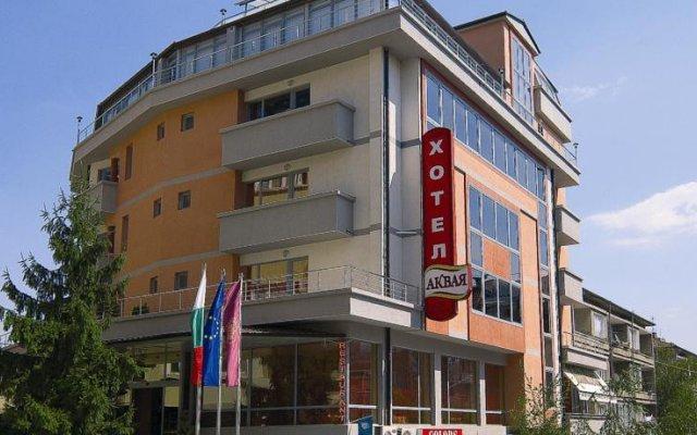 Отель Аквая Велико Тырново вид на фасад