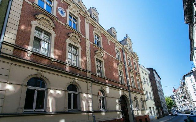 Отель Msapartamenty - Strzałowa Познань вид на фасад