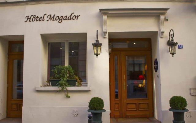 Hotel Mogador Opera - Paris Париж вид на фасад