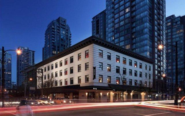 Отель Moda Hotel Канада, Ванкувер - отзывы, цены и фото номеров - забронировать отель Moda Hotel онлайн вид на фасад