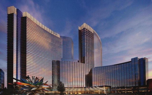 Отель ARIA Resort & Casino США, Лас-Вегас - 1 отзыв об отеле, цены и фото номеров - забронировать отель ARIA Resort & Casino онлайн вид на фасад