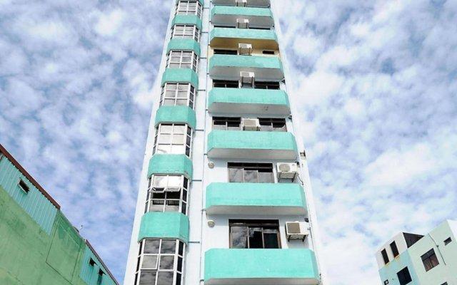 Отель Luckyhiya Hotel Мальдивы, Северный атолл Мале - отзывы, цены и фото номеров - забронировать отель Luckyhiya Hotel онлайн вид на фасад