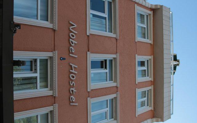 Nobel Hostel вид на фасад