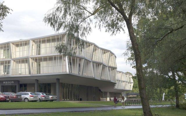 Hedon Spa & Hotel вид на фасад