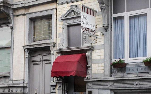 Отель Hôtel Satellite вид на фасад
