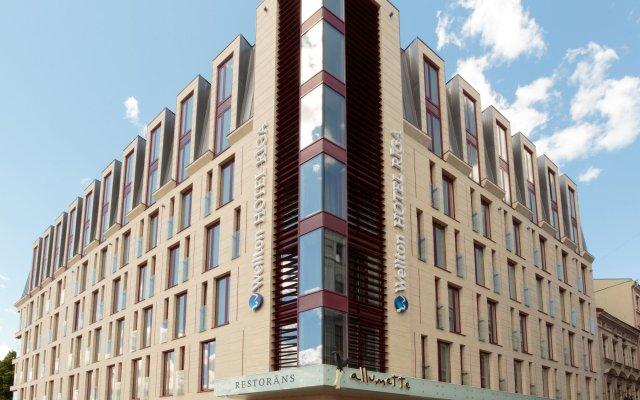Wellton Riga Hotel And Spa Рига вид на фасад