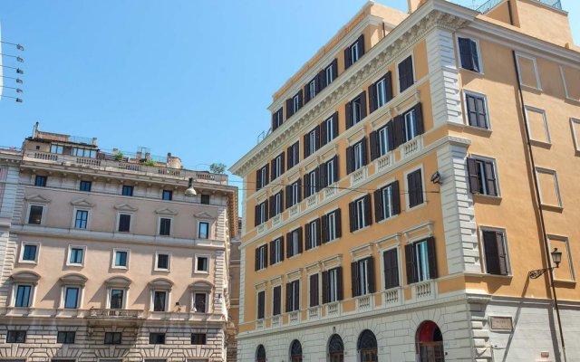 Damaso Hotel вид на фасад