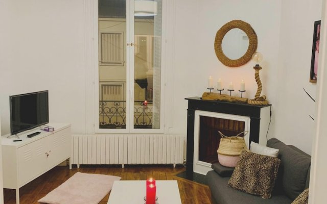 Apartment With one Bedroom in Le Blanc-mesnil, With Wonderful City View and Wifi