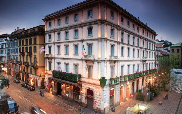Отель Grand Hotel et de Milan Италия, Милан - 4 отзыва об отеле, цены и фото номеров - забронировать отель Grand Hotel et de Milan онлайн вид на фасад