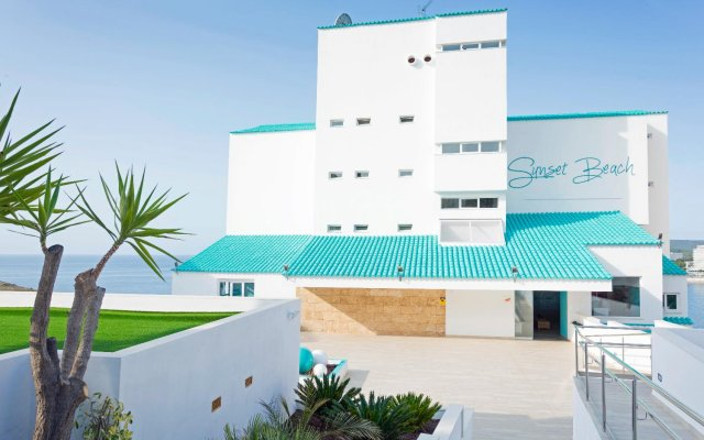 Отель HSM Sándalo Beach вид на фасад