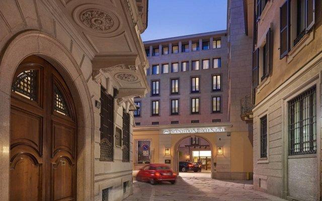 Отель Mandarin Oriental, Milan вид на фасад