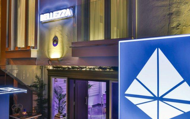 Hotel Belezza вид на фасад