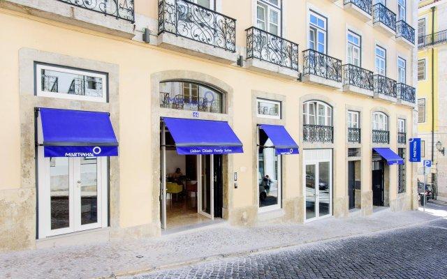Отель Martinhal Lisbon Chiado Family Suites вид на фасад