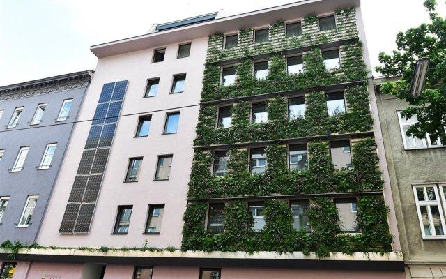 Отель Boutiquehotel Stadthalle Вена вид на фасад