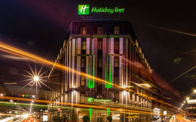 Отель Holiday Inn Milan - Garibaldi Station вид на фасад