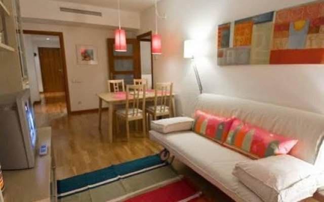 Апартаменты Villaroel Apartments комната для гостей