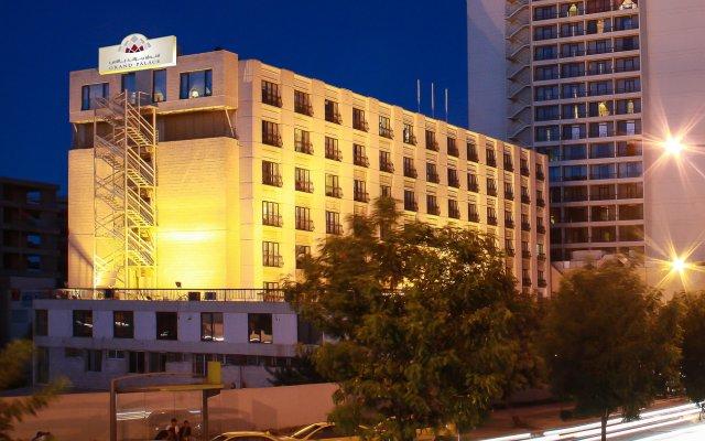 Отель Grand Palace Hotel Иордания, Амман - отзывы, цены и фото номеров - забронировать отель Grand Palace Hotel онлайн вид на фасад