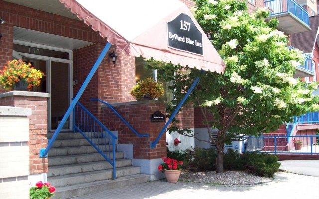 Отель ByWard Blue Inn Канада, Оттава - отзывы, цены и фото номеров - забронировать отель ByWard Blue Inn онлайн вид на фасад