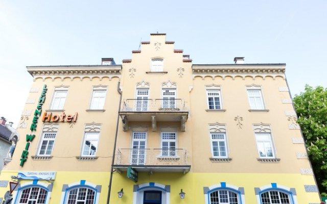 Отель LEHENERHOF Зальцбург вид на фасад