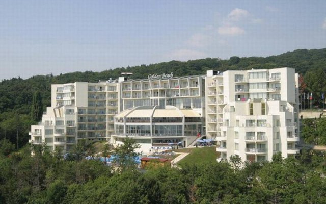 Park hotel Golden Beach вид на фасад