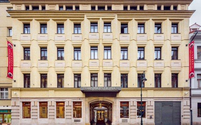 Отель Grand Majestic Hotel Prague Чехия, Прага - - забронировать отель Grand Majestic Hotel Prague, цены и фото номеров вид на фасад